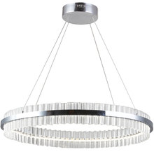 Dainolite REI-24LEDC-PC - 44W LED Chandelier, Polished Chrome Finish