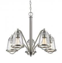 Z-Lite 444-5-BN - 5 Light Chandelier