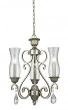 Z-Lite 720-3-AS - 3 Light Chandelier