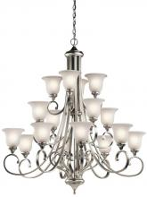Kichler 43192NIL18 - Chandelier 16Lt LED