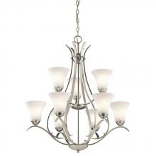 Kichler 43506NIL18 - Chandelier 9Lt LED