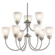 Kichler 43639NIL18 - Chandelier 9Lt LED