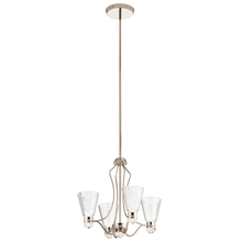 Kichler 44353PNLED - Chandelier 4Lt LED