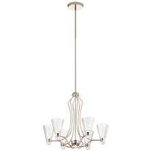 Kichler 44354PNLED - Chandelier 6Lt LED