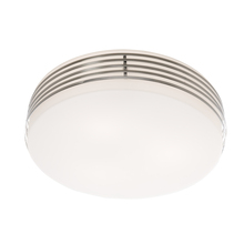 Artcraft AC2171 - 3 Light Flush Mount in Chrome