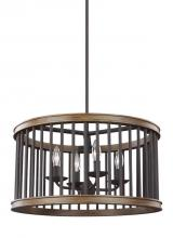 Feiss F3115/4WRI/TWO - 4 - Light Pendant